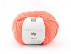 "Knitting wool - ""Essentials big"" - neon orange"