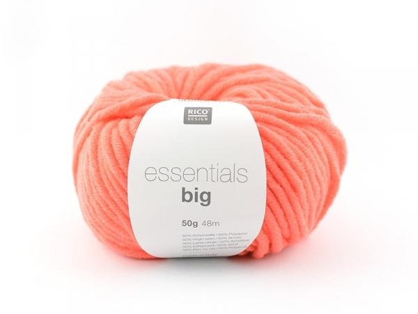 """Acheter Laine à tricoter """"Essentials big"""" - orange fluo - 5,40€ en ligne sur La Petite Epicerie - Loisirs créatifs"""