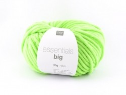 "Knitting wool - ""Essentials big"" - neon green"