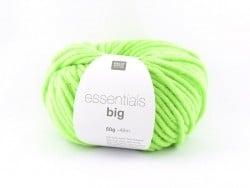 "Laine à tricoter ""Essentials big"" - vert fluo"