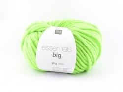 """Strickwolle - """"Essentials - big"""" - neongrün"""