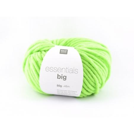 """Acheter Laine à tricoter """"Essentials big"""" - vert fluo - 5,40€ en ligne sur La Petite Epicerie - Loisirs créatifs"""
