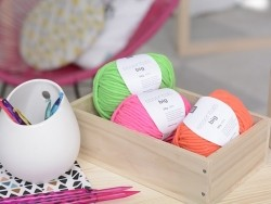 """Laine à tricoter """"Essentials big"""" - turquoise"""