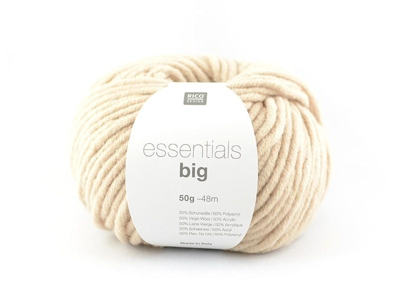 "Knitting wool - ""Essentials big"" - beige"