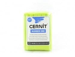 Acheter Pâte CERNIT Basic Number One - vert anis - 1,89€ en ligne sur La Petite Epicerie - Loisirs créatifs