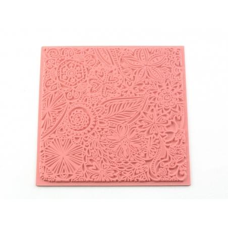 """Acheter Plaque texture """"flowers"""" - 7,50€ en ligne sur La Petite Epicerie - 100% Loisirs créatifs"""