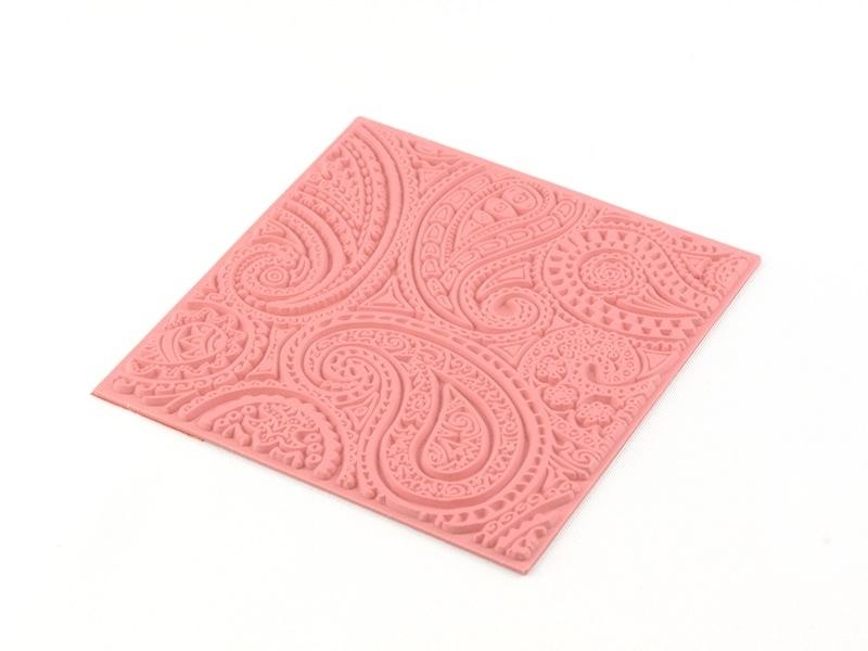 """Acheter Plaque texture """"paisley"""" - 7,50€ en ligne sur La Petite Epicerie - 100% Loisirs créatifs"""