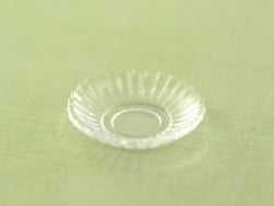 1 rechteckiger Teller / Behälter - weiß