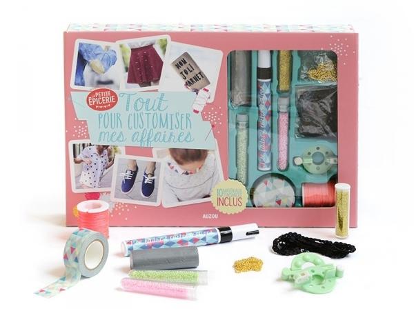 Acheter Coffret Tout pour customiser mes affaires - La Petite Epicerie - 19,95€ en ligne sur La Petite Epicerie - Loisirs cr...