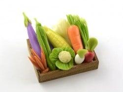 Cagette de légumes miniature
