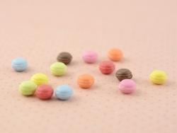 14 macarons miniatures