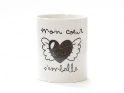 """Mug """"Mon coeur s'emballe"""""""
