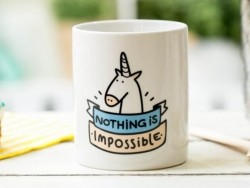 "Mug ""Nothing is impossible"""