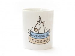 "Mug ""Nothing is impossible"" Mr Wonderful  - 1"