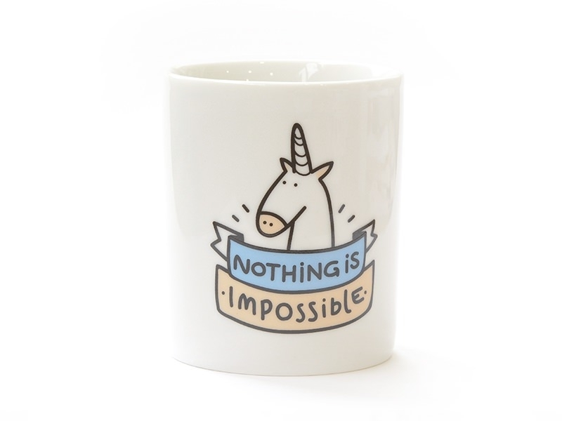 """Mug """"Nothing is impossible"""""""