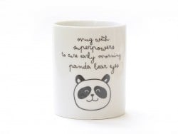 "Mug ""With superpowers"" Mr Wonderful  - 1"