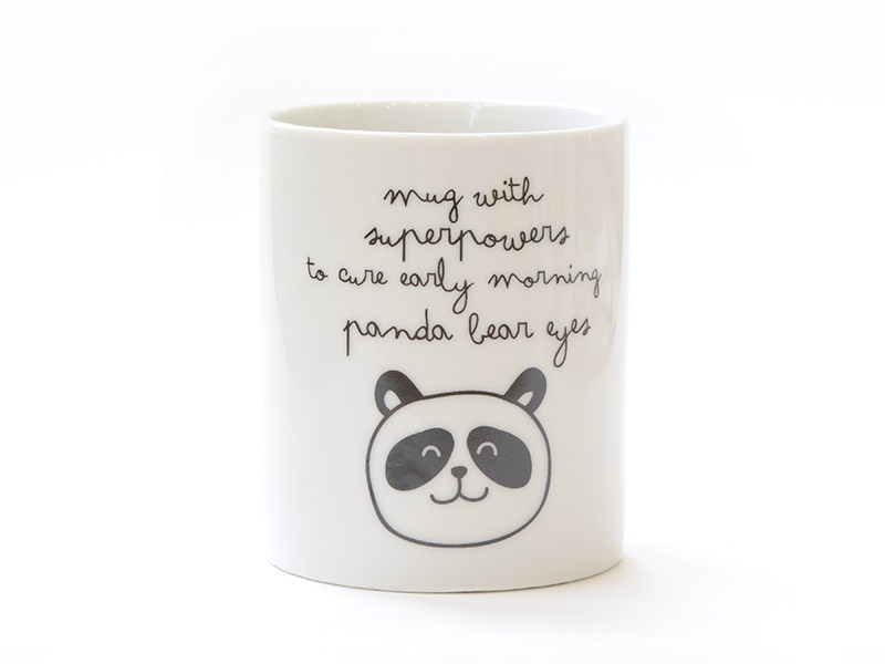 "Mug ""With superpowers"""