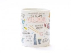 "Mug - ""Things that made me fall in love with London"""