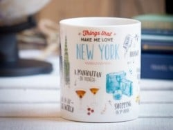 "Mug ""Things that made me fall in love with New York"""