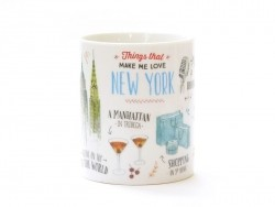 "Mug ""Things that made me fall in love with New York"" Mr Wonderful  - 1"