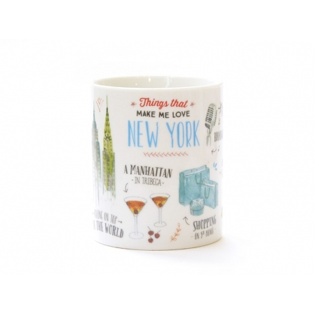 "Acheter Mug ""Things that made me fall in love with New York"" - 14,90 € en ligne sur La Petite Epicerie - Loisirs créatifs"