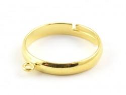 Acheter Bague avec anneau - couleur or - 0,49€ en ligne sur La Petite Epicerie - 100% Loisirs créatifs