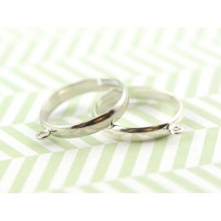 Acheter Bague avec anneau - couleur argent - 0,49€ en ligne sur La Petite Epicerie - Loisirs créatifs