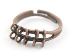 Acheter Bague 10 anneaux - couleur cuivre - 2,29€ en ligne sur La Petite Epicerie - 100% Loisirs créatifs