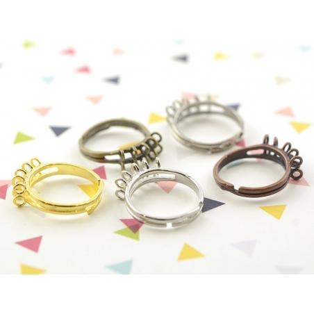 Acheter Bague 10 anneaux - couleur cuivre - 2,29€ en ligne sur La Petite Epicerie - Loisirs créatifs