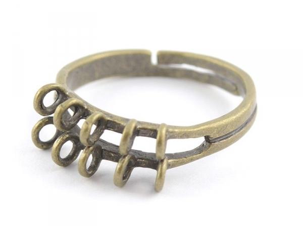 Acheter Bague 10 anneaux - couleur bronze - 2,29€ en ligne sur La Petite Epicerie - Loisirs créatifs