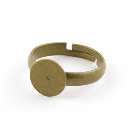 Support de bague ENFANT - couleur bronze