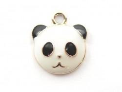Emailleanhänger - Panda