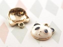 Enamelled pendant - Panda