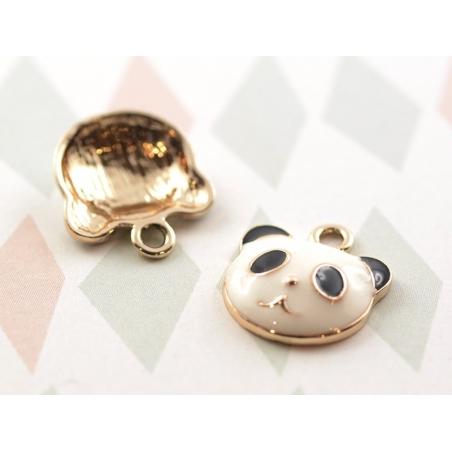 Acheter Breloque émaillée - Panda - 0,99€ en ligne sur La Petite Epicerie - Loisirs créatifs