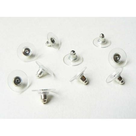 Acheter 1 Paire de fermoirs pour bijoux d'oreilles  - 1,29€ en ligne sur La Petite Epicerie - Loisirs créatifs