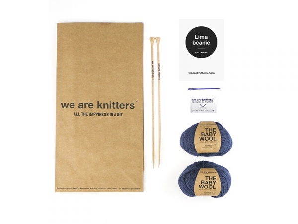 Kit tricot intermédiaire - Bonnet Lester We are knitters - 1