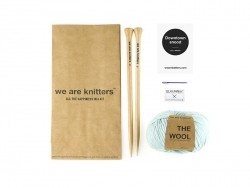 Kit tricot débutant - Snood Downtown We are knitters - 1