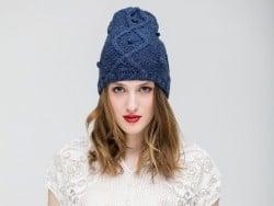 Kit tricot niveau avancé - Bonnet Lima