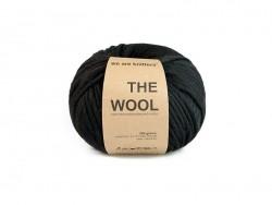 Peruanische Wolle - Schwarz