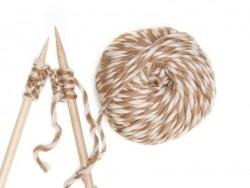 Acheter Laine péruvienne - Rayé beige - 17,90€ en ligne sur La Petite Epicerie - Loisirs créatifs