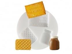 Acheter Mini moule en silicone biscuits - 5,10€ en ligne sur La Petite Epicerie - Loisirs créatifs