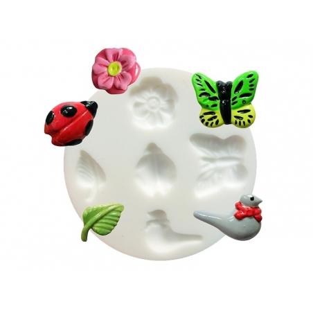 Acheter Mini moule en silicone nature - 5,10€ en ligne sur La Petite Epicerie - Loisirs créatifs