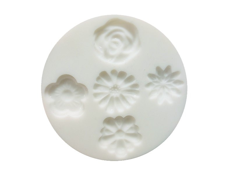 Small silicone mould - Flowers