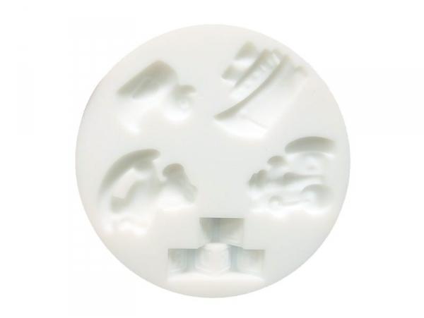 Acheter Mini moule en silicone jouets - 4,50€ en ligne sur La Petite Epicerie - 100% Loisirs créatifs