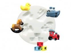 Kleine Silikonform - Spielzeug