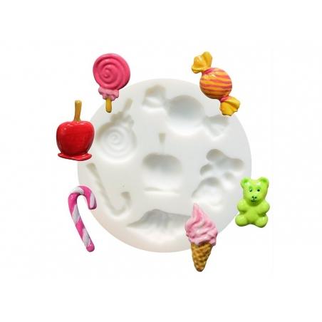 Mini moule en silicone bonbons