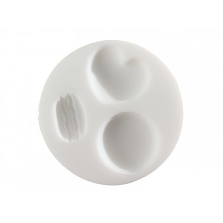 Acheter Mini moule en silicone macarons - 5,10€ en ligne sur La Petite Epicerie - 100% Loisirs créatifs