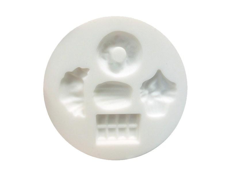 Mini moule en silicone noeuds de rubans