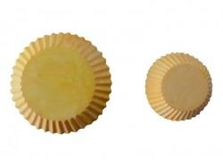 Kleine Silikonform - Cupcakeboden