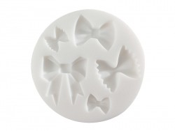 Small silicone mould - Bows